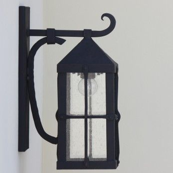 Spanish Contemporary Wrought Iron Outdoor Lighting Fixture Outdoor Light Fixtures Iron Lighting Wrought Iron Lights