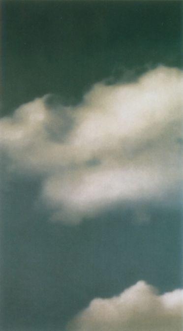 Wolke Cloud  Öl auf Leinwand