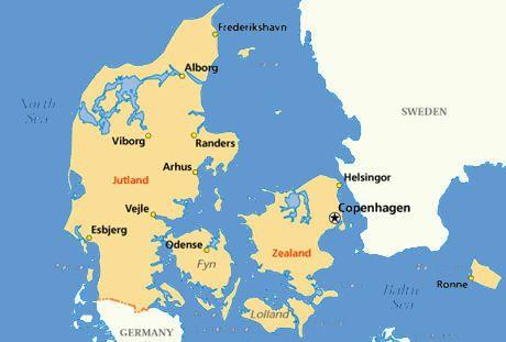 Image result for Helsingør Map