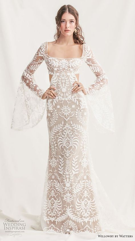 857cca16588 List of Pinterest watters wedding dress sleeves pictures & Pinterest ...