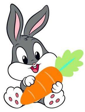 Bebes Looney Tunes Para Imprimir Con Imagenes Zanahorias