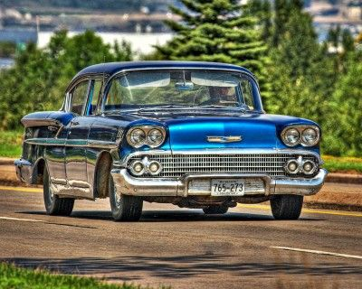 Blue 58 Chevy Puzzle In Cars Bikes Jigsaw Puzzles On Thejigsawpuzzles Com Play Full Screen Enjoy Puzzle Of The Day And Chevy Chevrolet Parts Jigsaw Puzzles