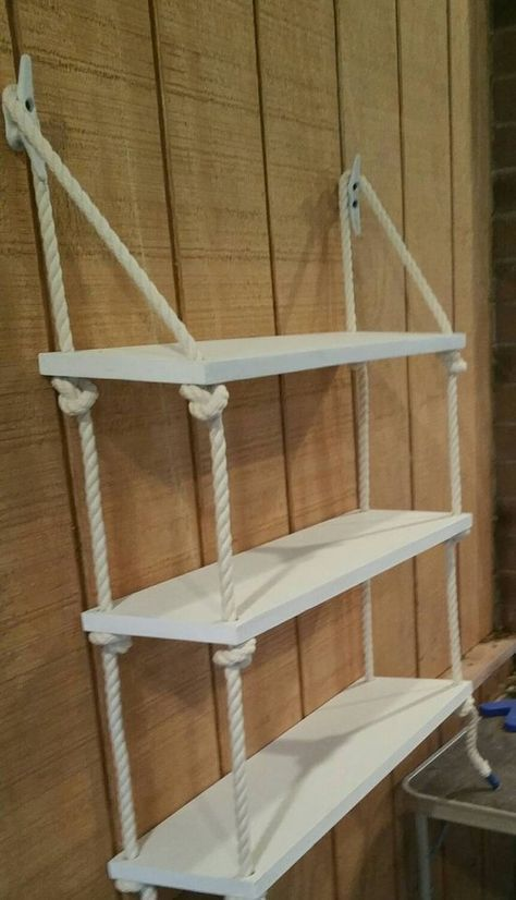 en.casa]® wall shelf hanging shelving unit compartments wall