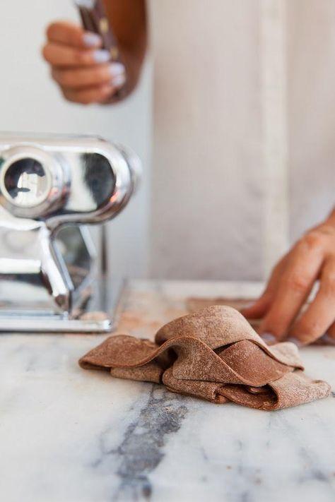 Cocoa Pasta /  #recipe