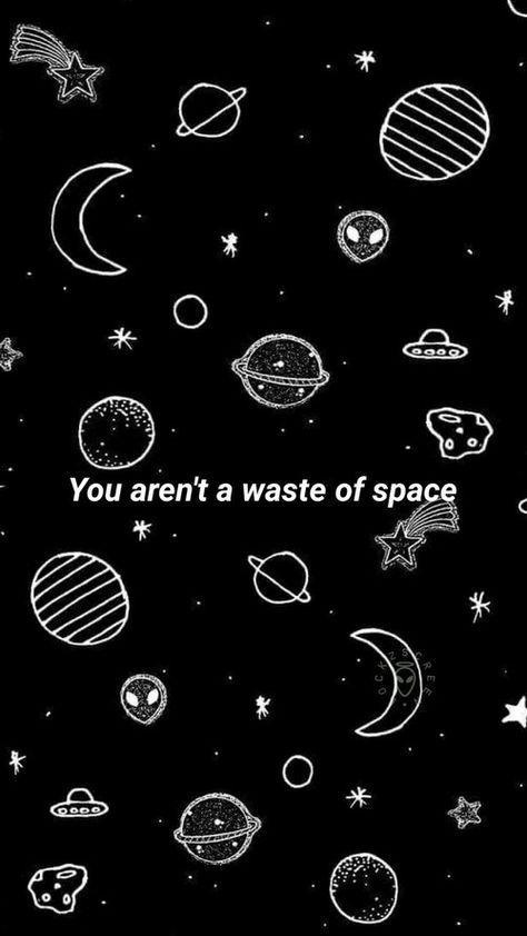 Black Space And Dark Image Wallpaper Ponsel Latar Belakang Gambar
