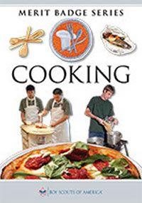 Cooking Merit Badge Pamphlet Boy Scouts Merit Badges Merit