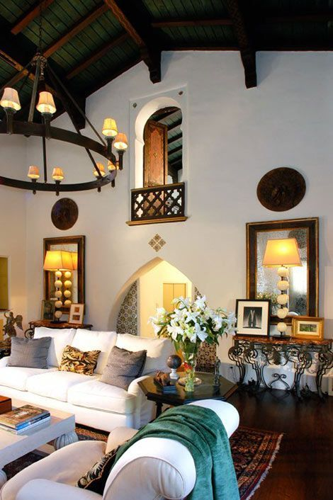 Spanish Style Palm Beach Style Peek At Our First Room With