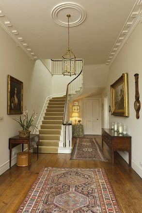 Georgian House Staircase - Bowood House | Interiors & Architecture