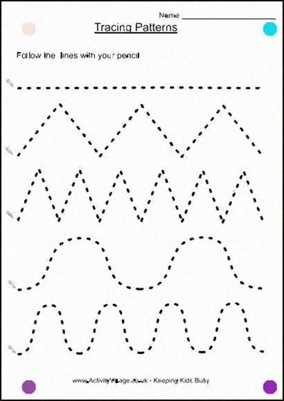 Preschool Tracing Lines Worksheets Image Search Results In 2020
