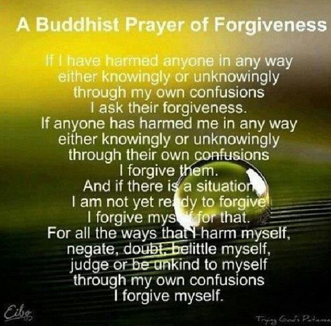 Not trying to push Buddhism unless you like it! I thought the quote was…
