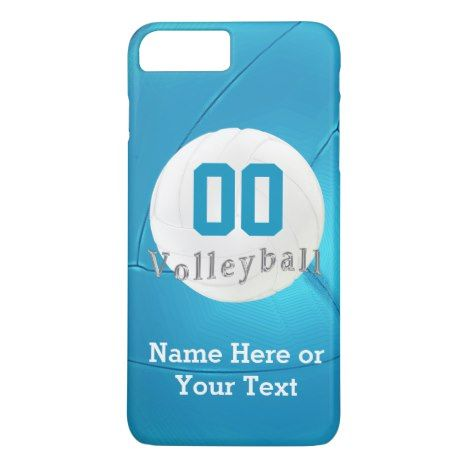 Volleyball Iphone 7 Plus Cases With Number Name Zazzle Com Iphone 7 Plus Cases Iphone 7 Plus Iphone
