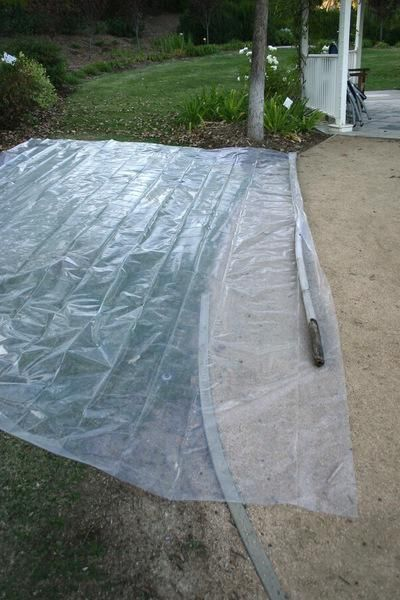 Soil Solarization: A Chemical Free Way To Get Rid Of Weeds And Unwanted  Grass | Grasses, Gardens And Yards