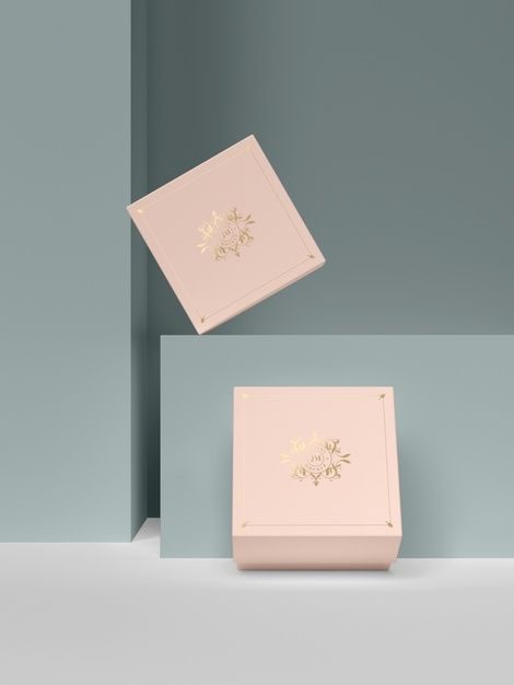 Download Duas Caixas De Joias Rosa Com Simbolos Dourados Pink Jewelry Pink Jewelry Box Jewelry Box