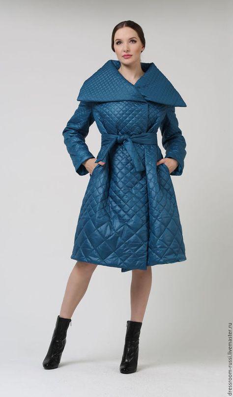 Winter coat   Верхняя одежда ручной работы. Ярмарка Мастеров - ручная работа.  Купить Зимнее пальто. Handmade. Морская волна, пальто на зиму 73e4bb525c1