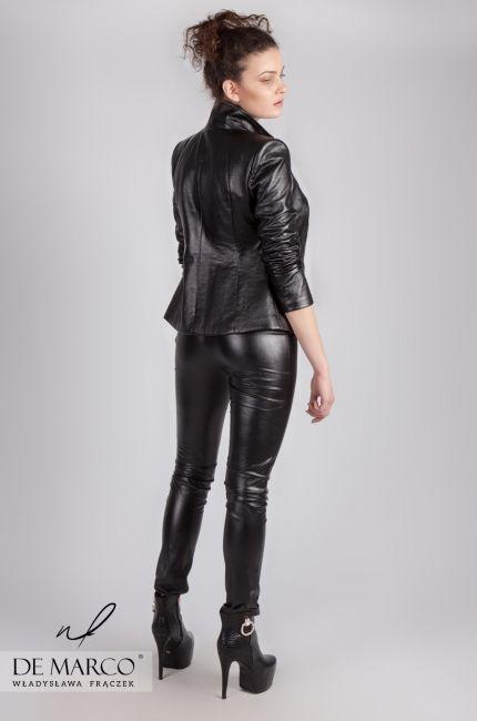 Najmodniejsze Stylizacje Szycie Na Miare U Projektanta Spod Krakowa De Marco Frydrychowice Fashion Leather Pants Venetia