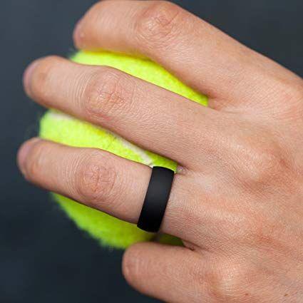 Thunderfit Silicone Wedding Ring For Men Women In 2020 Silicone Wedding Ring Women Silicone Wedding Rings Rings For Men
