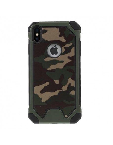 coque iphone 5 camouflage vert