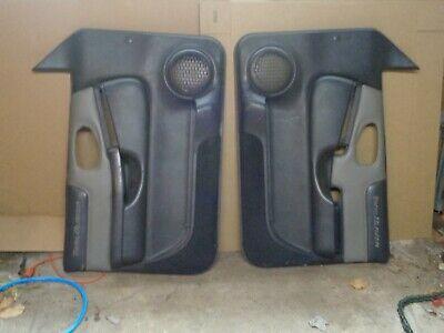 Details About 98 04 Chevy Blazer Trailblazer Door Panel Driver Passenger Graphite Pewter H88 In 2020 Panel Doors Paneling Trailblazer