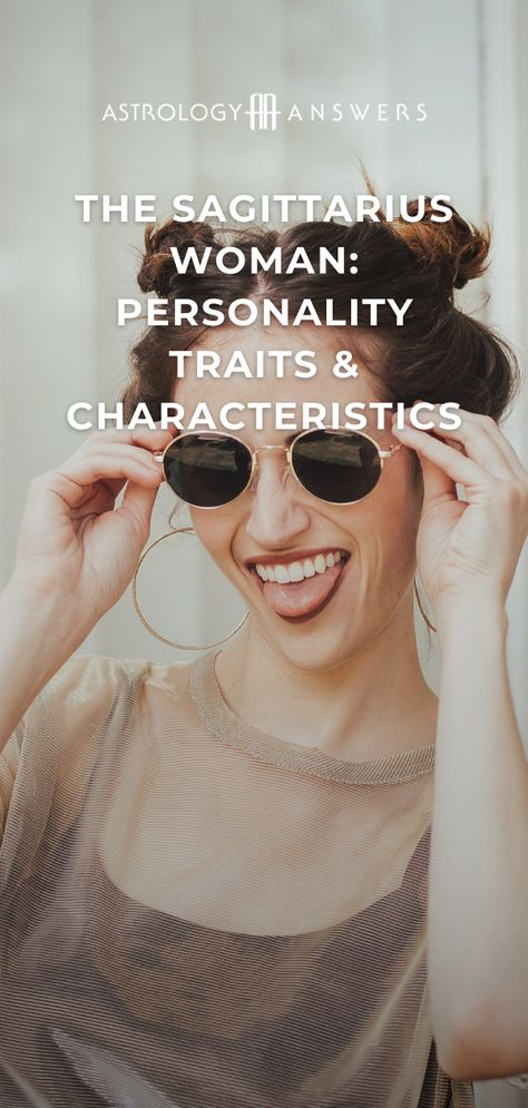Today we look at the Sagittarius woman's different personality traits. Learn all about this magnetic and complex Sun sign! #sagittarius #sagittariuswoman #sagittariuspersonality #sagittariustraits #sagittariuswomantraits #sagittariusfemale