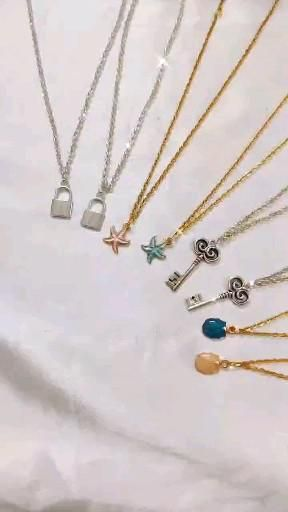 Rs 199/- each necklace.