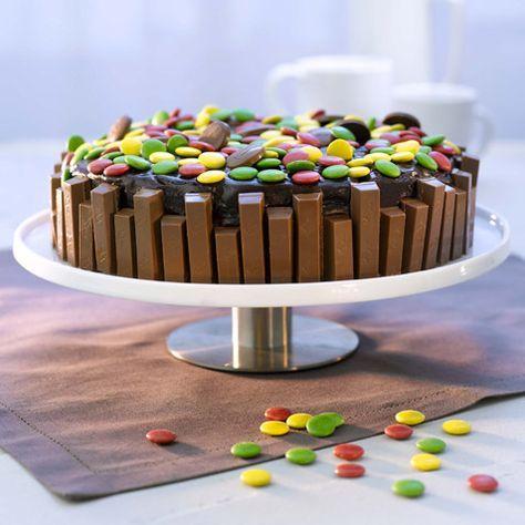 kake med kvikk lunsj