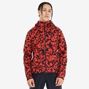 Nike Sportswear Tech Fleece Hoodie Pueblo Red Black Mens Clothing Tech Fleece Hoodie Tech Fleece Sportswear Fashion