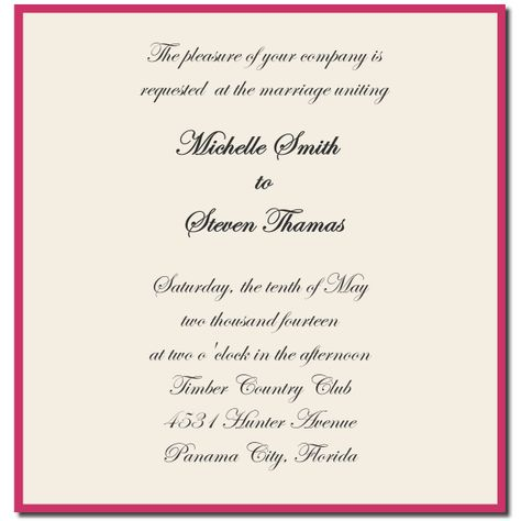 You are regretfully invited to the wedding between my perfect son - invitation unveiling