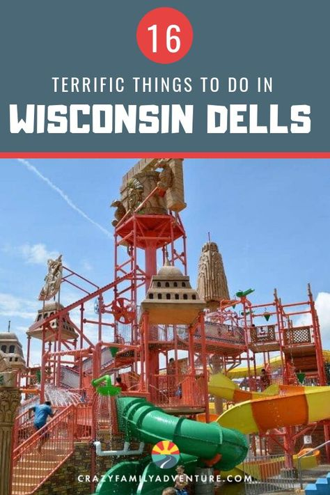 Check out these amazing things to do in Wisconsin Dells with kids! Make some life-long family memories and visit the Waterpark Captial of the World!