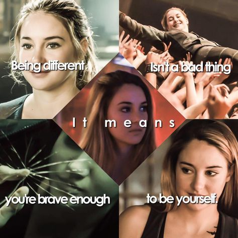 This pin would be pinned on Tris's board because in Insurgent she finally accepts being Divergent as a good things. Tris no longer has to, or wants to hide being Divergent. Divergent Memes, Divergent Hunger Games, Divergent Fandom, Divergent Trilogy, Divergent Insurgent Allegiant, Insurgent Quotes, Divergent Series Movies, Disney Divergent, Dauntless Quotes