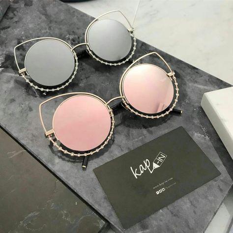 5fbbb1a547 Tendance mode : 49 Lunettes de soleil pour femme tendance été 2017 lunette  pour femme collection