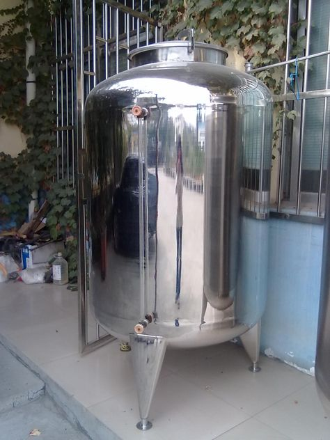 stainless steel storage tank and vessel with best price from china manufacturer
