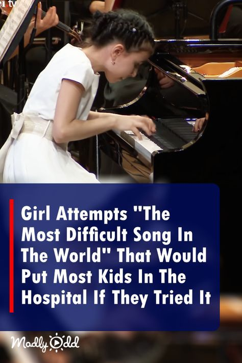 Girl Performs The Most Difficult Song In The World That Would