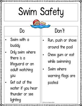 Summer Safety And Reader With Repetitive Text Kindergarten 1st