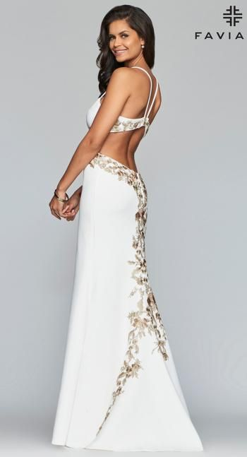 Faviana Glamour Dress S10302 Terry Costa Glamour Dress