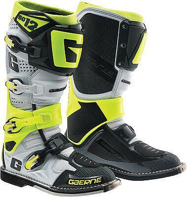 Ebay Advertisement Gaerne Sg 12 Offroad Mx Boots Motorcycle Atv Utv Dirt Bike Watercraft Pwc Bike Boots Mx Boots Racing Boots