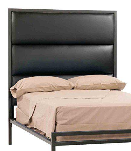 Lofted Platform Bed W Tall Headboard Cal King In Distressed
