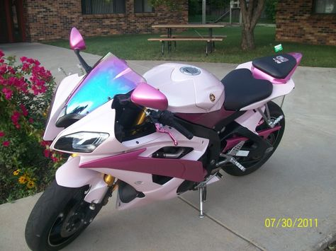 I finally got the Pink Bike after 13 years. Motorcycle Dirt Bike, Dirt Bike Girl, Cool Motorcycles, Harley Davidson Motorcycles, Barbie Bike, Big Girl Toys, Best Luxury Cars, Hot Rides, Cute Cars