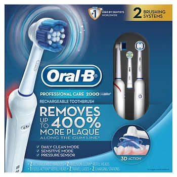 Oral B Professional Care Rechargeable Toothbrush Brushing Teeth Rechargeable Toothbrush Manual Toothbrush