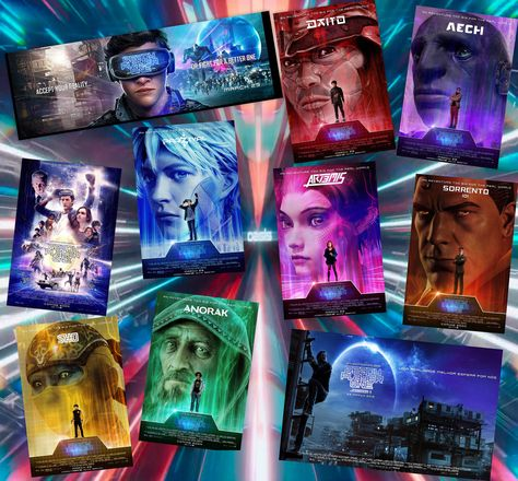 Ready Player One Posters Take 2 Ready Player One Ready Player One Movie Player One