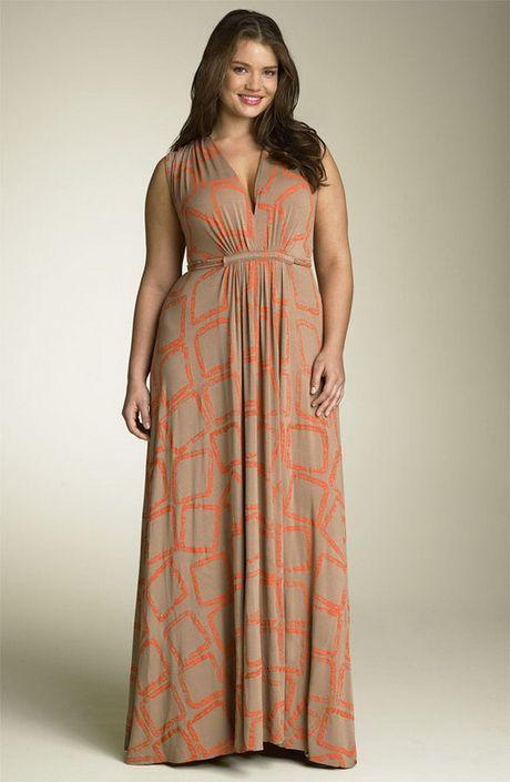 Robe longue pour femme grosse