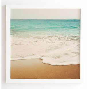 Beach Ocean Framed Wall Art You Ll Love Wayfair Foto Arte Fotografia Fotografias Digitales