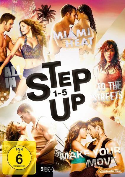 Step Up 1 5 5 Dvds Dvd Step Up Dvd Film Filme