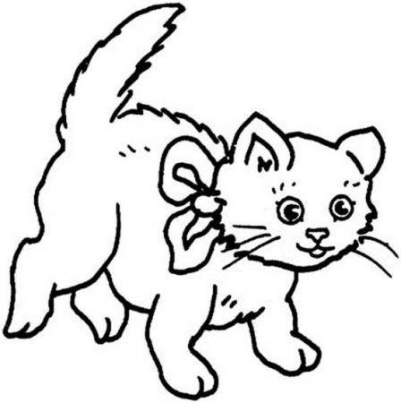Ausmalbilder Katzen Fur Kinder Unicorn Coloring Pages Mermaid Coloring Pages Cat Coloring Page