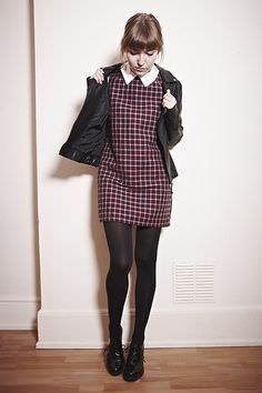 Fashion your seatbelts: three ways to wear the grungy plaid trend preppy st