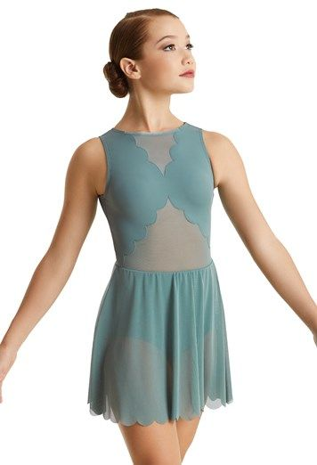 Balera Top Girls Crop Top For Dance Womens Sleeveless Tank With Mesh Plunge Fully Lined