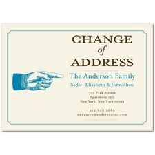 business change of address cards