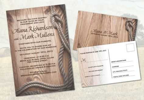 Country Western Ranch Wedding Invitations Western Rustic Style