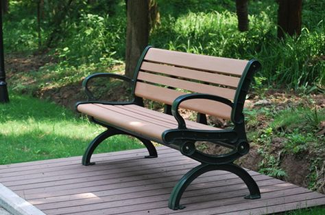 Stupendous Diy Eco Durable Park Benches Wpc Wood Plastic Composite Ocoug Best Dining Table And Chair Ideas Images Ocougorg