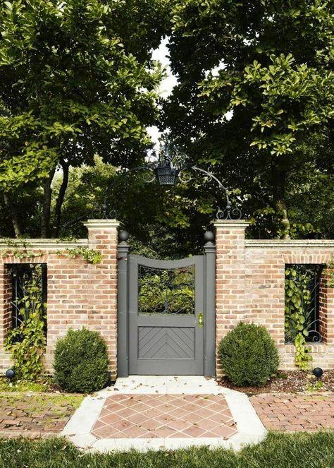 93 Brick Fence Ideas Brick Fence Backyard Fence