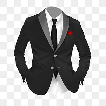 Free Cartoon Black Suit Colorful Tie White Shirt Yellow Suit Png Transparent Clipart Image And Psd File For Free Download Black Suits Yellow Suit Free Cartoons